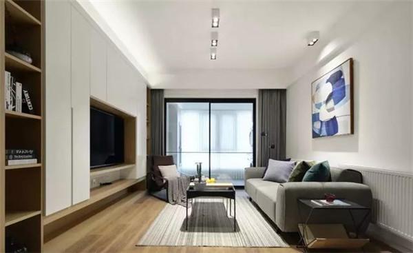 105平米二手房装修客厅效果图