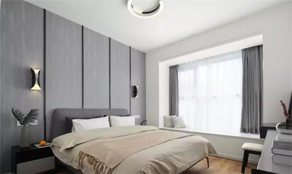 105平米二手房装修主卧效果图