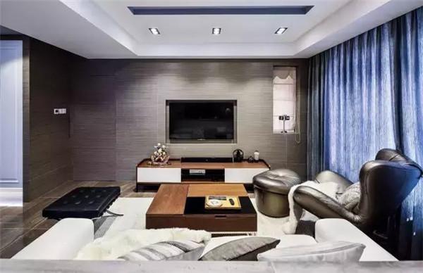 天津上善美居装饰现代风格设计案例