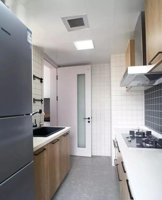 北欧风厨房装修案例