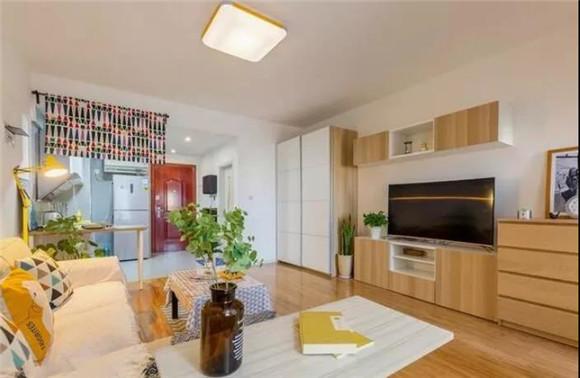 60平米一室一厅客厅装修