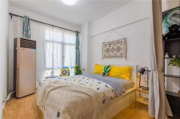 60平米一室一厅卧室装修
