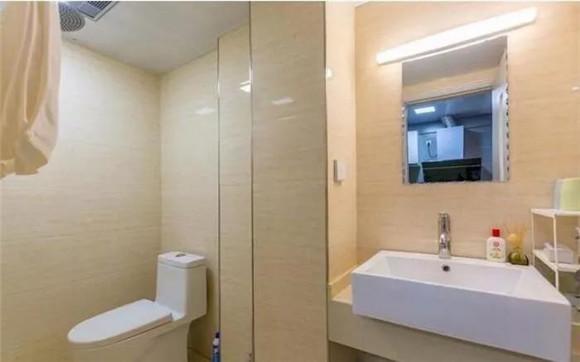 60平米一室一厅卫生间装修