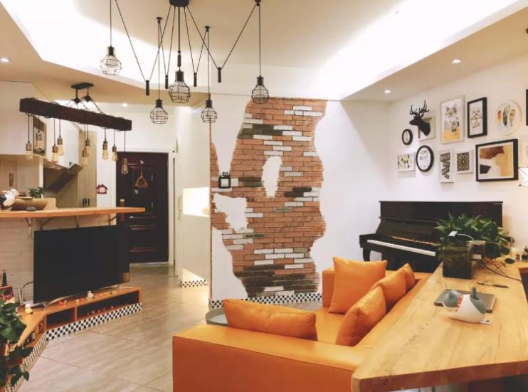 太原单身公寓装修-客厅布局