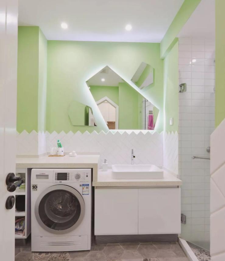 太原单身公寓装修-卫生间内部