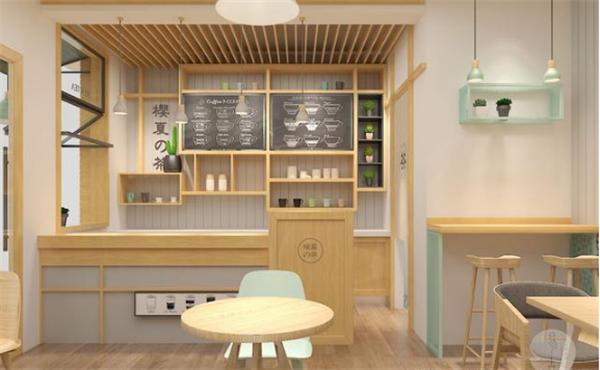 无锡奶茶店装修效果图