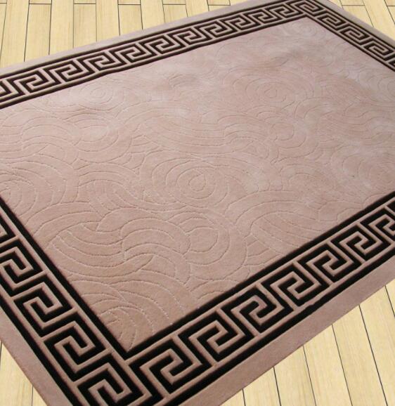 手工地毯编制方法及花样