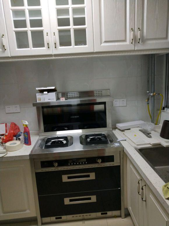 厨房硬装效果图