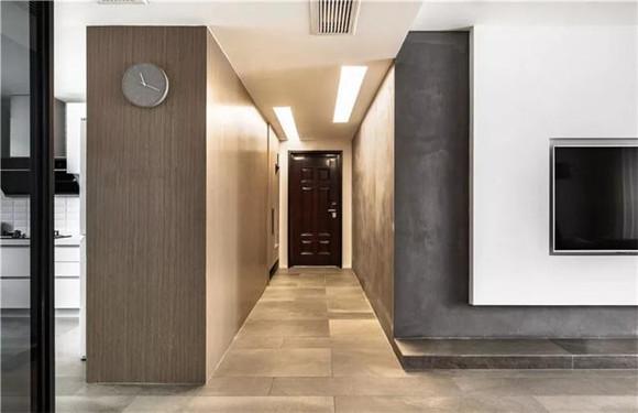 140平米三室两厅玄关装修