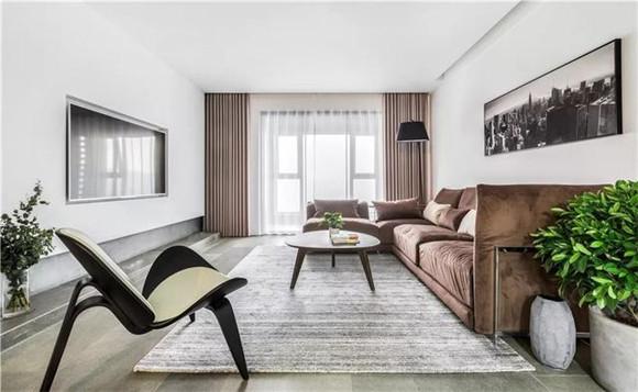 140平米三室两厅客厅装修