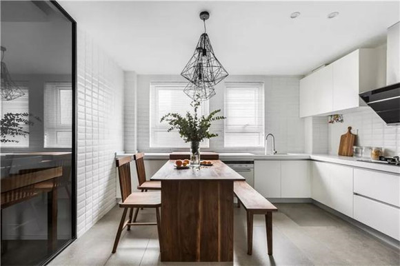 140平米三室两厅厨房装修