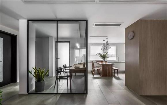 140平米三室两厅书房装修