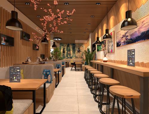 平顶山奶茶店装修钱平顶山奶茶店装修3种厨柜有画软件图的风格吗图片
