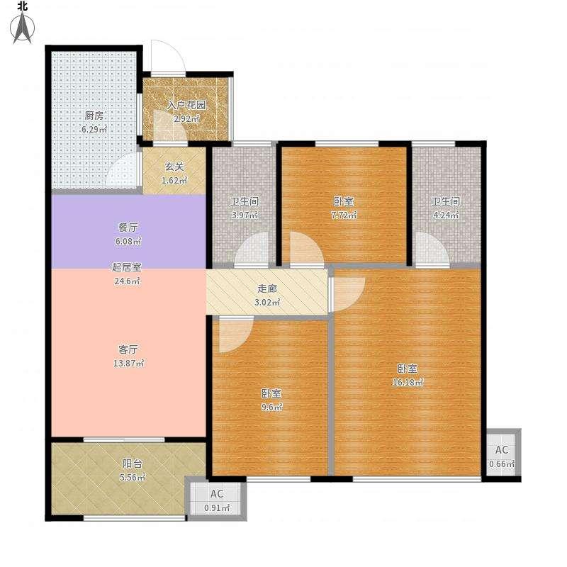 保定三房两厅装修