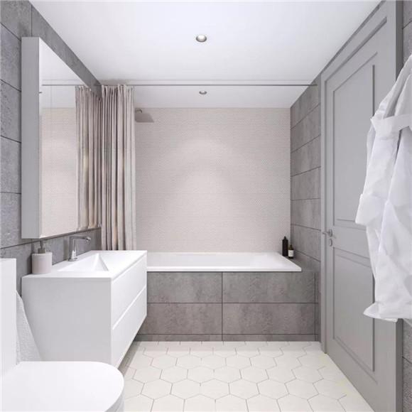 90平米卫生间装修设计