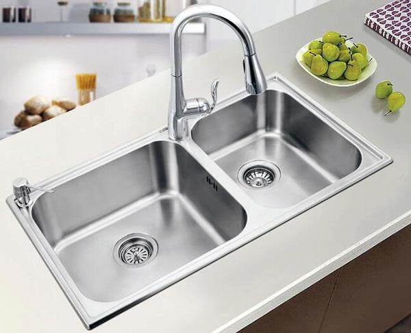 厨房洗菜盆如何安装