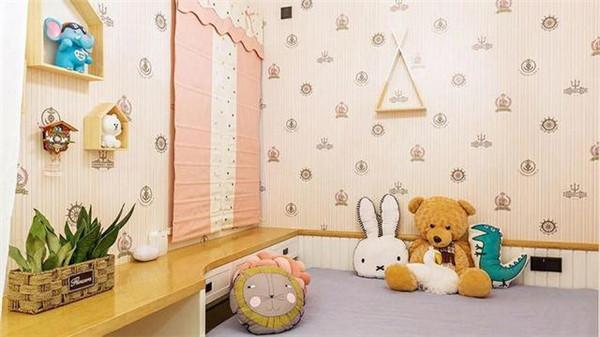 60平米两室一厅装修儿童房图