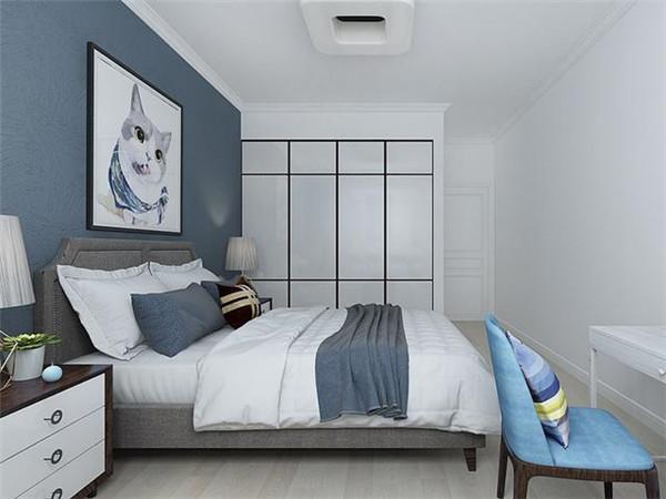 极简时尚风小卧室装修设计案例