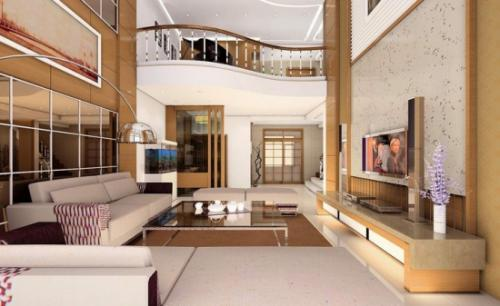 抚顺跃层房子装修设计技巧之分层要明确