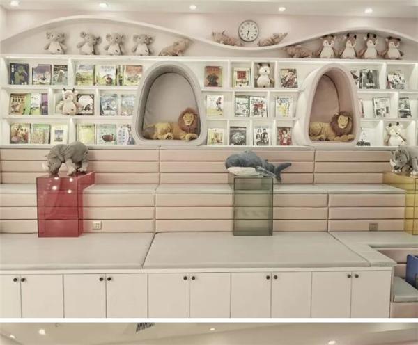 儿童影楼阅读区设计示例图