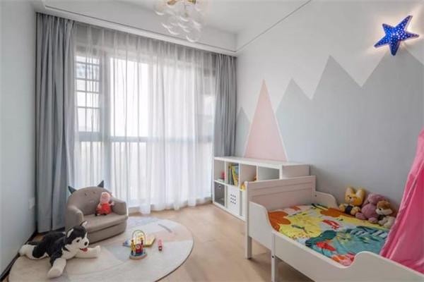 128平三居室装修儿童房效果图