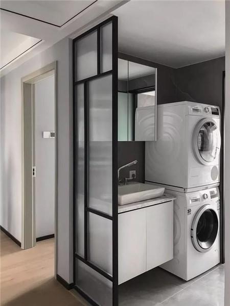 128平三居室装修公卫效果图