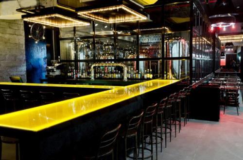 抚顺酒吧装修设计之音乐酒吧