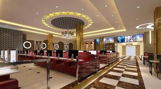 宿州网吧装修设计要点之天花板和地面