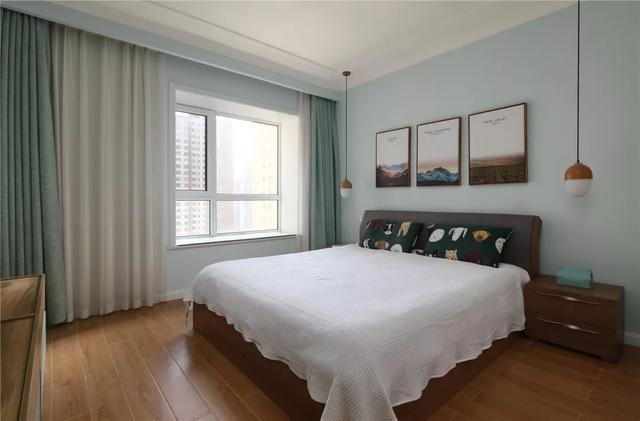 现代北欧风卧室装修案例