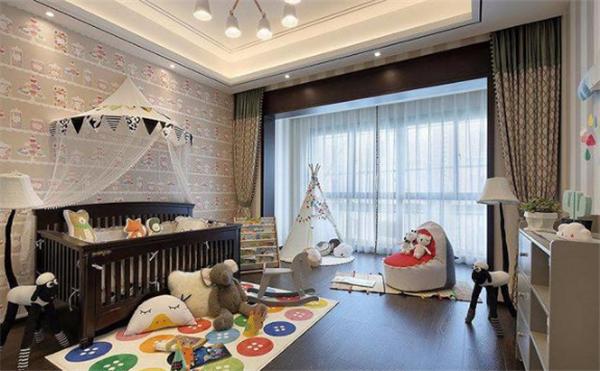 北京新中式别墅装修案例