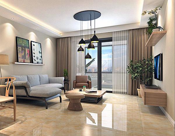 客厅最流行地砖颜色 客厅地砖什么材质的好看