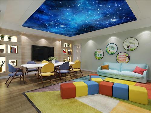抚顺幼儿园装修室内设计考虑因素之儿童房