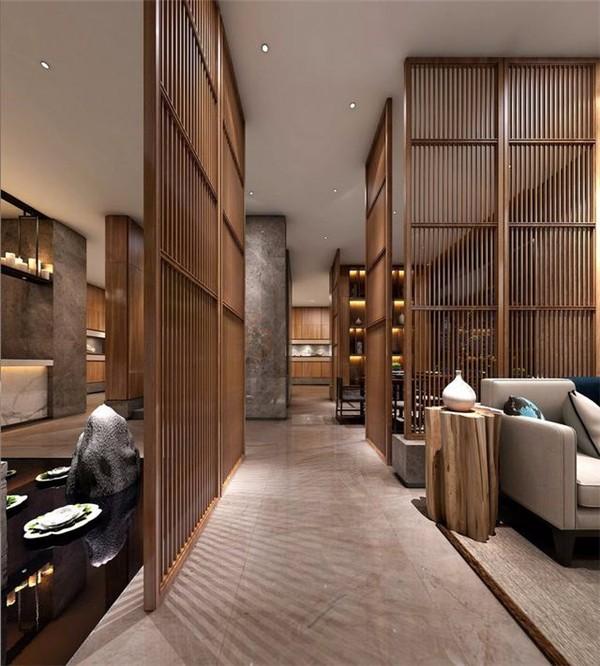 茶楼茶室家具设计