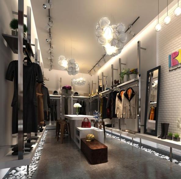 小型服装店如何装修