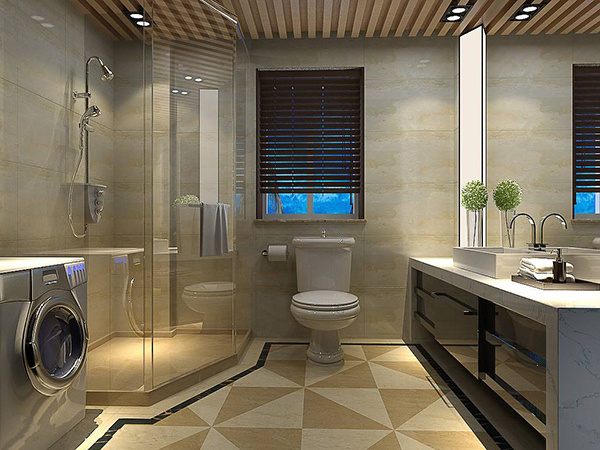 卫生间墙砖铺贴高度