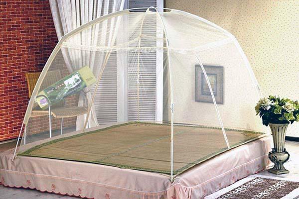 圆形蚊帐怎么挂