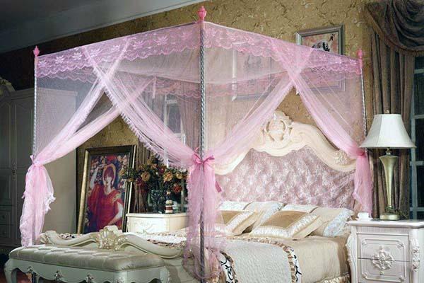圆形蚊帐安装方法