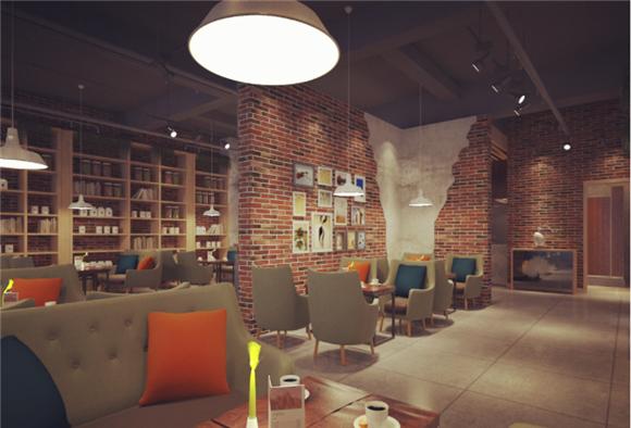 昆山咖啡厅装修设计