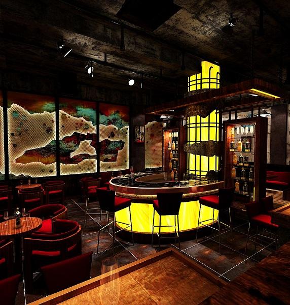 2019盐城酒吧装修设计案例
