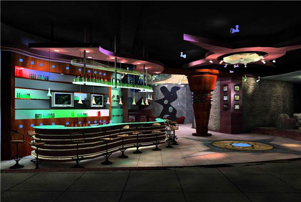 盐城酒吧简单装修设计案例