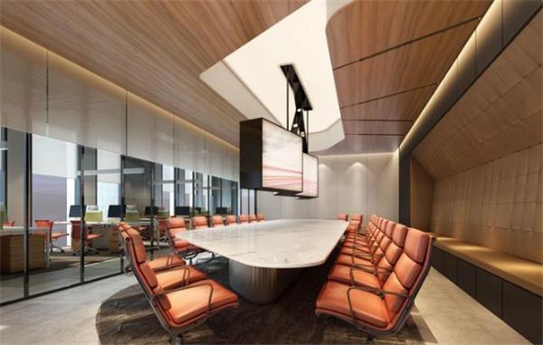 杭州会议室装修效果图