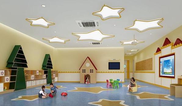 淮安幼儿园装修效果图