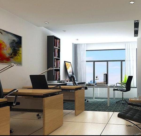 小型办公室装修风格
