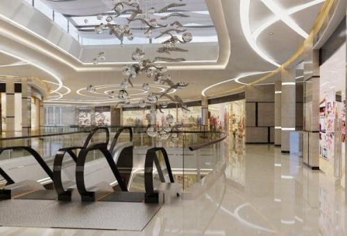 松江区大型商场装修展板设计