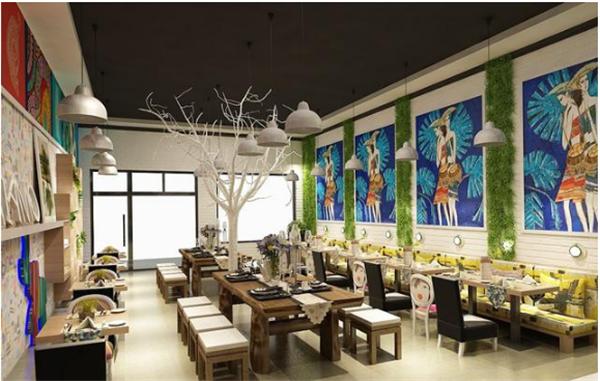 北京餐饮店装修设计效果图