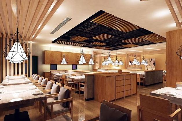 韩式餐厅装修效果图