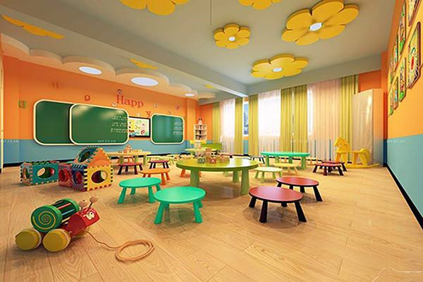 扬州幼儿园装修效果图