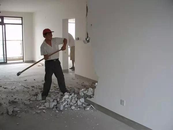 老房装修拆除