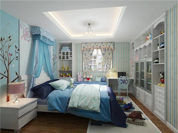 温馨简单的儿童房