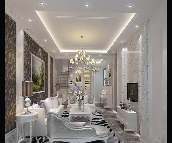 别墅白色怎么装修设计